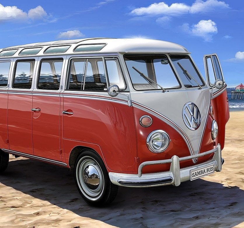 VolksWagen Transporter Red