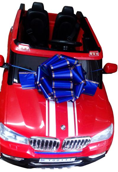подарочный бант для электромобиля 5