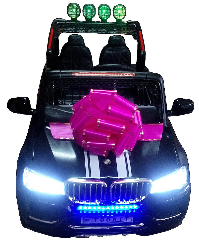 подарочный бант для электромобиля 3
