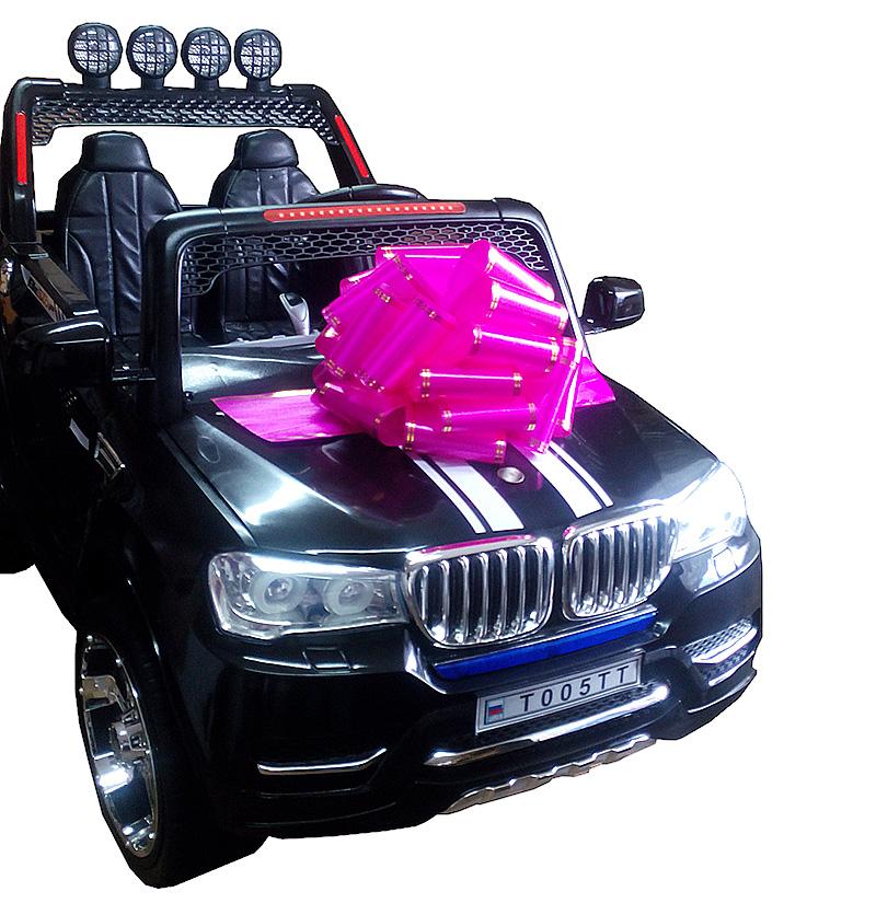 подарочный бант для электромобиля 1